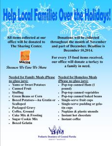 food flyer 2014