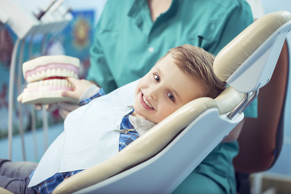 child dentist appointment